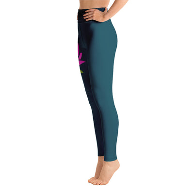 Dharma Talk Blue Lotus Leggings