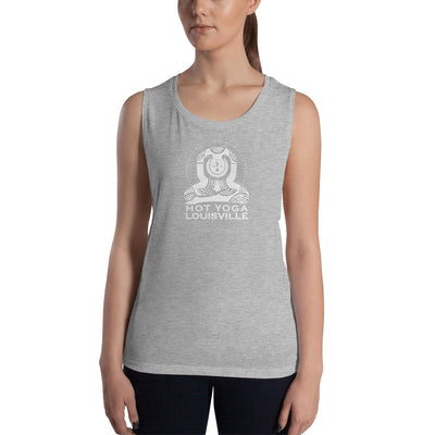 Hot Yoga Louisville Ladies' Muscle Tank
