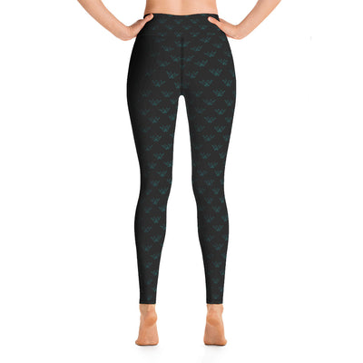 Queen City Yoga - Leggings 1 S&R1 Tur