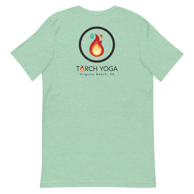 Torch Yoga VA Short-Sleeve Unisex T-Shirt