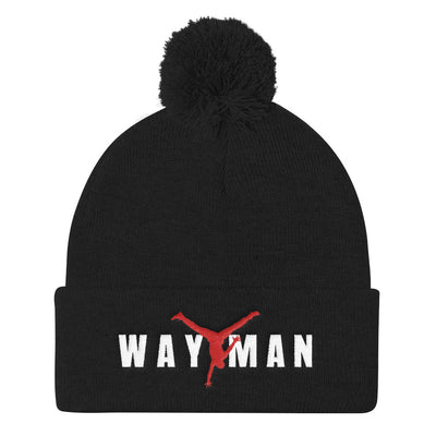 WAY MAN-Pom Pom Knit Cap