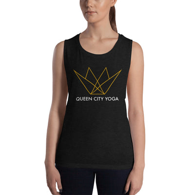 Queen City Yoga - Ladies' Muscle Tank
