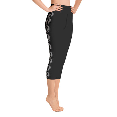 Fuse45-Black Capri Leggings