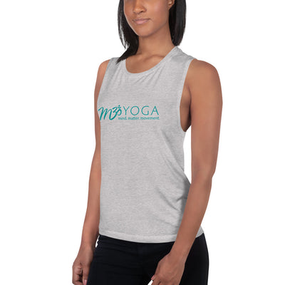 M3Yoga-Ladies' Muscle Tank