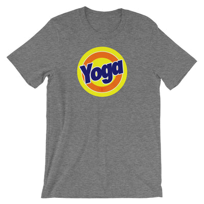 YOGA BRAINWASH-Short-Sleeve Unisex T-Shirt