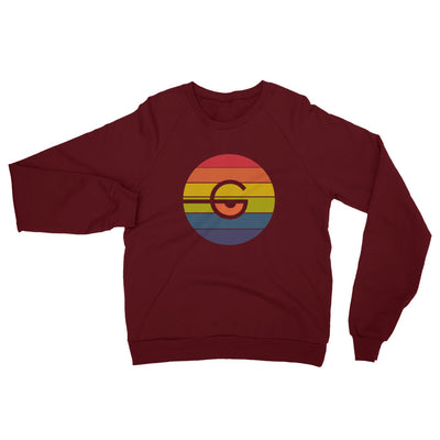 Gaze California Fleece Raglan Sweatshirt