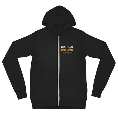 Original Hot Yoga Traverse City-Lightweight Unisex zip hoodie
