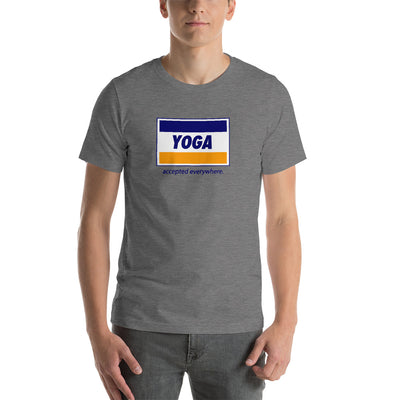 YOGA VISA-Short-Sleeve Unisex T-Shirt