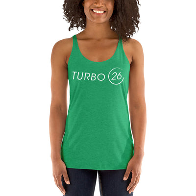 Turbo26-Women's Racerback Tank