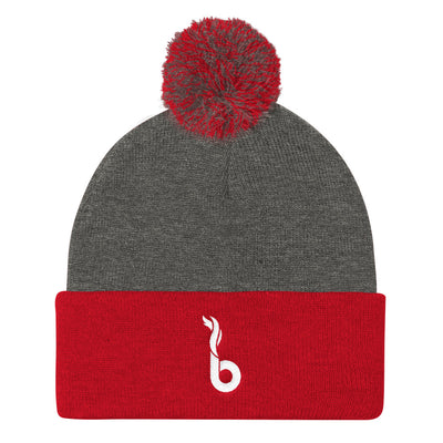 Boise Hot Yoga Pom Pom Knit Cap