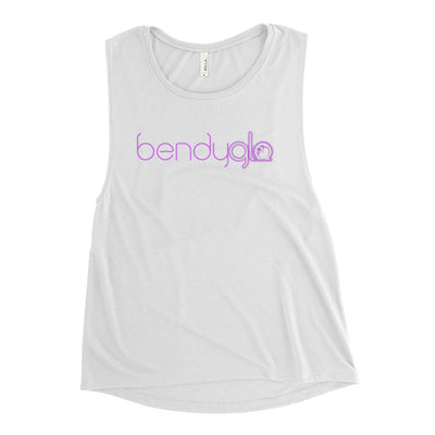 Bendy Glo-Ladies' Muscle Tank