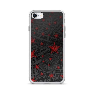 iPhone Case red stars
