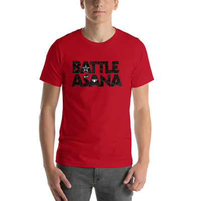 Battle Asana-Short-Sleeve Unisex T-Shirt