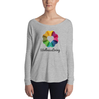 Wellness Living-Ladies' Long Sleeve Tee