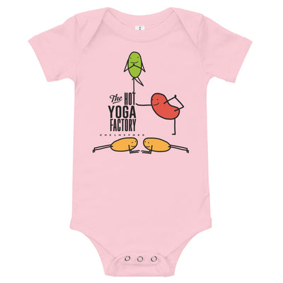 The Hot Yoga Factory Baby Onesie