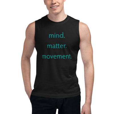 M3Yoga-MMM Back Logo-Men's Muscle Shirt