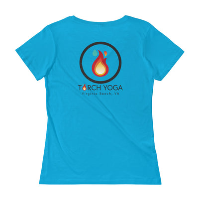 Torch Yoga VA Ladies' Scoopneck T-Shirt