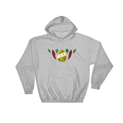 Rasta Lotus Hooded Sweatshirt