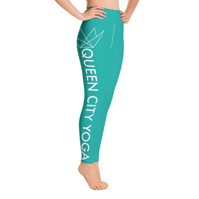 Queen City Yoga - Leggings 1 DTL2 Tur