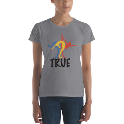 True Bikram Yoga-Women's short sleeve t-shirt