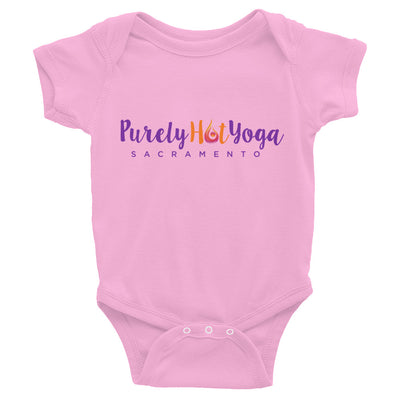 Purely Hot Yoga-Infant Bodysuit