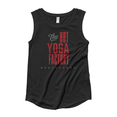 The Hot Yoga Factory Ladies' Cap Sleeve T-Shirt