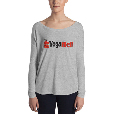 Yoga Hell-Ladies' Long Sleeve Tee