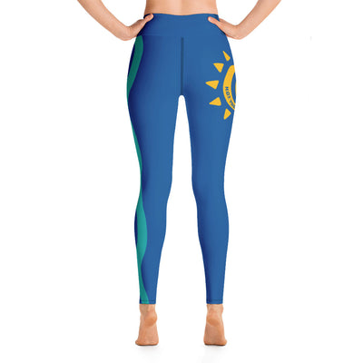 Hot Yoga On The Island-SH6 Leggings