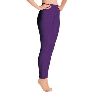 Turbo26-Leggings 26 Logo Grape