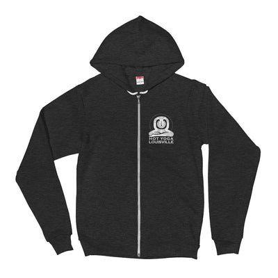 Hot Yoga Louisville Unisex Flex Fleece Zip Hoodie