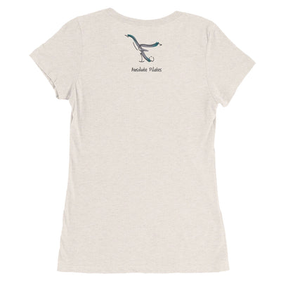 Absolute Pilates-Ladies' short sleeve t-shirt