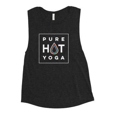 Pure Hot Yoga St. Louis-Ladies' Muscle Tank