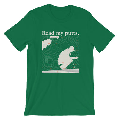 Read My Putts-Short-Sleeve Unisex T-Shirt