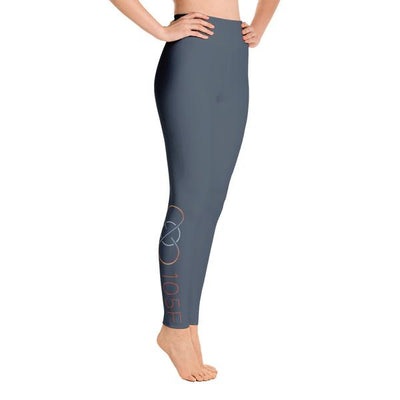 105F Chicago Blue High Waist Yoga Leggings
