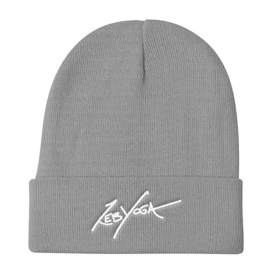 Zeb Yoga Signature-Knit Beanie