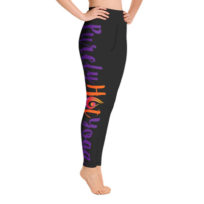 Purely Hot Yoga-Leggings Side Leg 2