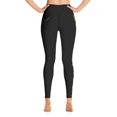 Queen City Yoga - Leggings Side Logo 2