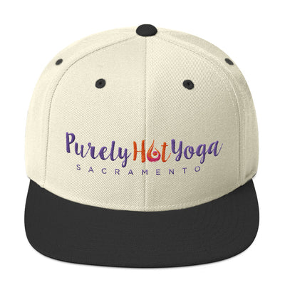 Purely Hot Yoga-Snapback Hat