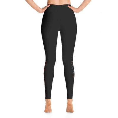 105F Chicago High Waist Yoga Leggings