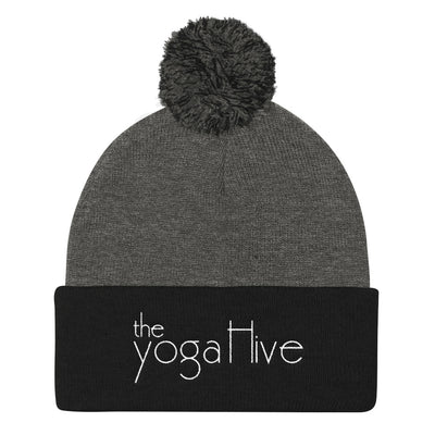The Yoga Hive Pom Pom Knit Cap