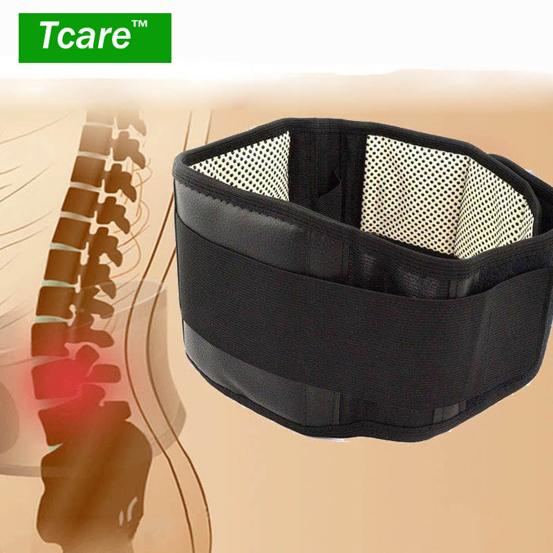 Magnetic Heat Belt - Self Heating Lumbar Support Back Brace