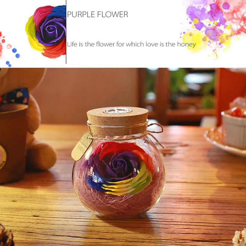 LED Rose Bulb Lamp