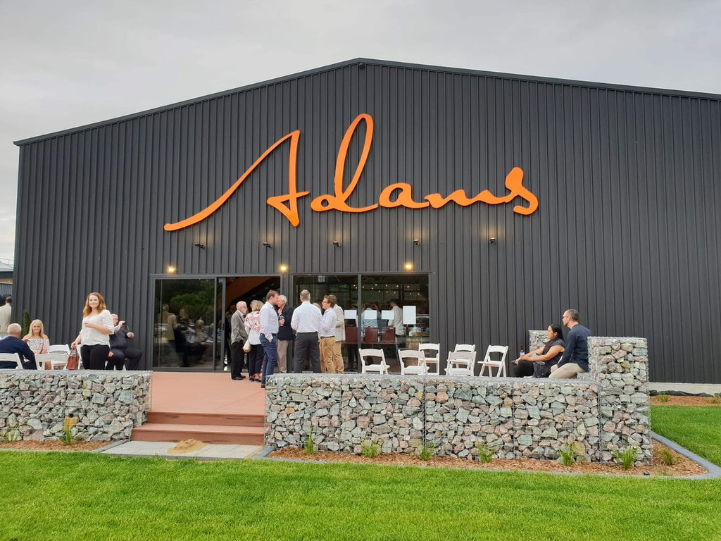 The visitor centre at Adams Distillery