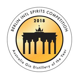 Australian Gen Distillery of the Year 2018 @ the Berlin International Spirits Competition