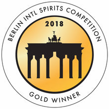 Load image into Gallery viewer, Best Dry Gin at the 2018 Berlin Internation Spirits Competition