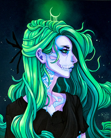 Ghostskull ☾ Art Print