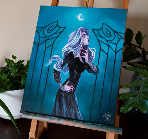 Haunting Night ☾ Original Painting