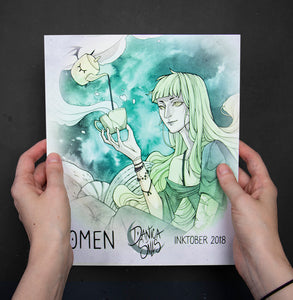 OMEN ☾ Inktober 2018 Art Book
