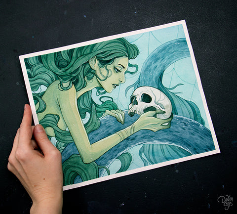 Mysterious Ocean ☾ Original Painting