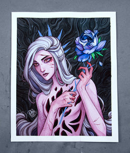 Rose Thorn ☾ Original Painting